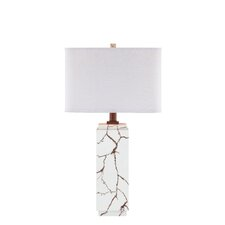 "Gemstone Inspired 29"" H Table Lamp with Drum Shade"