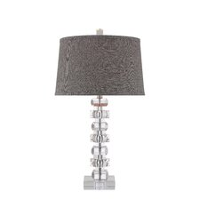 "28"" H Table Lamp with Empire Shade"
