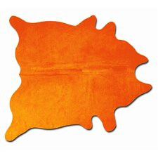 Geneva Orange Solid Area Rug