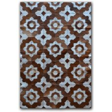 Marrakeche Brown/White Rug