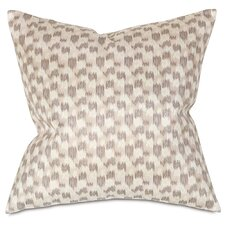 Mahoe Silver Square Pillow