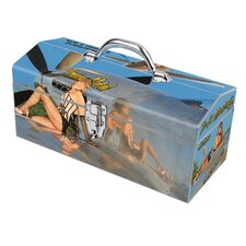 Warbird Pinup Girls Precious Metal Toolbox