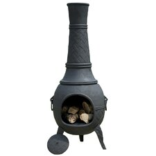 Cast Iron Plaited Chimenea