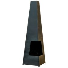 Steel Contemporary Cuba Chimenea