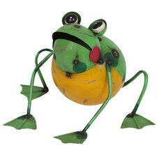 Steel Frankie the Frog Figurine
