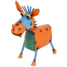 Steel Maverick the Mule Figurine