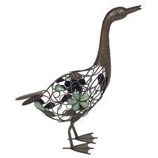 Steel Standing Duck Figurine