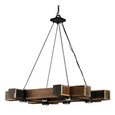 <strong>Currey & Company</strong> Dockyard 6 Light Chandelier
