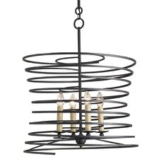 Nebula 4 Light Candle Chandelier