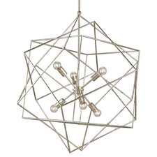 <strong>Currey & Company</strong> Aerial 6 Light Chandelier