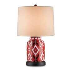 "Safari 26"" H Table Lamp with Drum Shade"