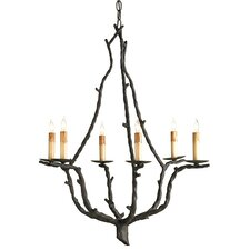 Soothsayer 6 Light Candle Chandelier