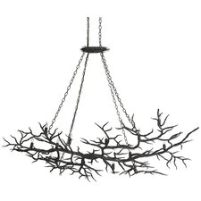<strong>Currey & Company</strong> Rainforest 14 Light Candle Chandelier