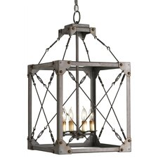 Salvage 4 Light Lantern