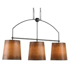 Cheroot 3 Light Kitchen Island Pendant