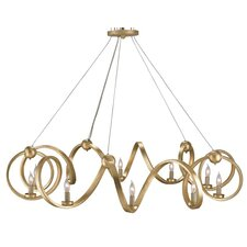 <strong>Currey & Company</strong> Ringmaster 10 Light Candle Chandelier