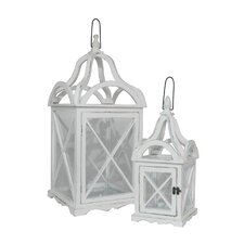 <strong>Three Hands</strong> 2 Piece Attractive Lantern Set