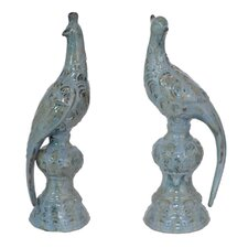 Amazing Bird Figurine 2-Piece Set