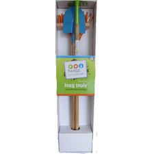 Long Gardening Tools for Kids 4 Piece Set