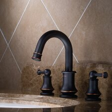 Serie 100 Double Handle Widespread Faucet