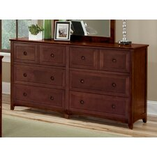 School House 8 Drawer Dresser