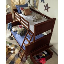 <strong>NE Kids</strong> School House Twin over Full Bunk Bed