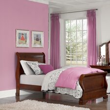 Walnut Street Riley Sleigh Bed