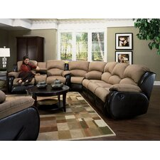 <strong>Southern Motion</strong> Jupiter Dual Reclining Sectional