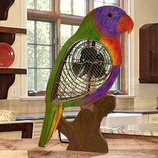 Figurine Lorikeet Wood Fan