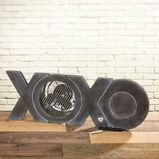 Figurine XOXO Wood Fan