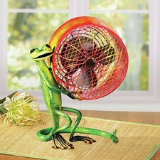 Figurine Gecko Fan