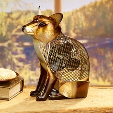 Figurine Fox Table Fan