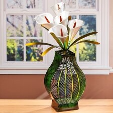 Figurine Calla lilies Table Fan