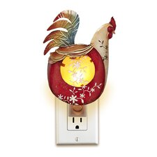 Decor Rooster Night Light