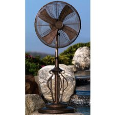 "Deco 18"" Adjustable Outdoor Capri Standing Fan"
