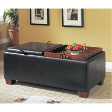Bycast Leather-Like Bench