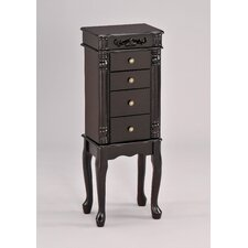 Tiana Jewelry Armoire with Mirror