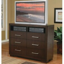 Jessica 6 Drawer Media Chest