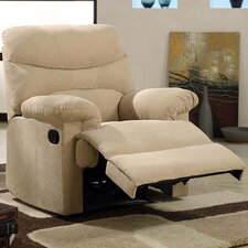 Plush Chaise Recliner