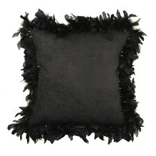 Alexander Les Plumes Feather Trim Pillow