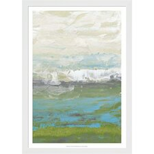 Heather Seas II by Jennifer Goldberger Framed Painting Print