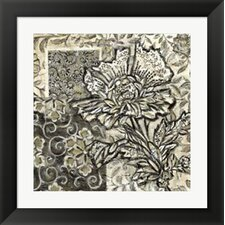 Chintz III by Chariklia Zarris Framed Graphic Art