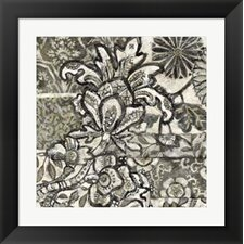 Chintz IV by Chariklia Zarris Framed Graphic Art