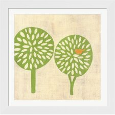 Best Friends Trees by Chariklia Zarris Framed Painting Print