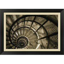 <strong>Evive Designs</strong> Spiral Staircase in Arc de Triomphe Framed Art