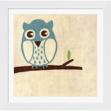 Best Friends Owl by Chariklia Zarris Framed Painting Print
