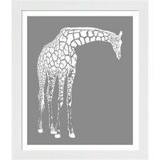 Giraffe Framed Art