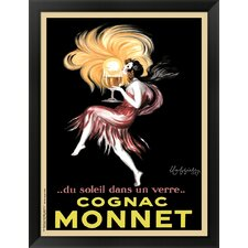 Cognac Monnet, 1927 by Leonetto Cappiello Framed Vintage Advertisement