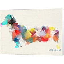 Dachshund Canvas Wall Art