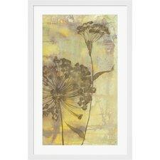 Dandelion Dance II by Jennifer Goldberger Framed Painting Print